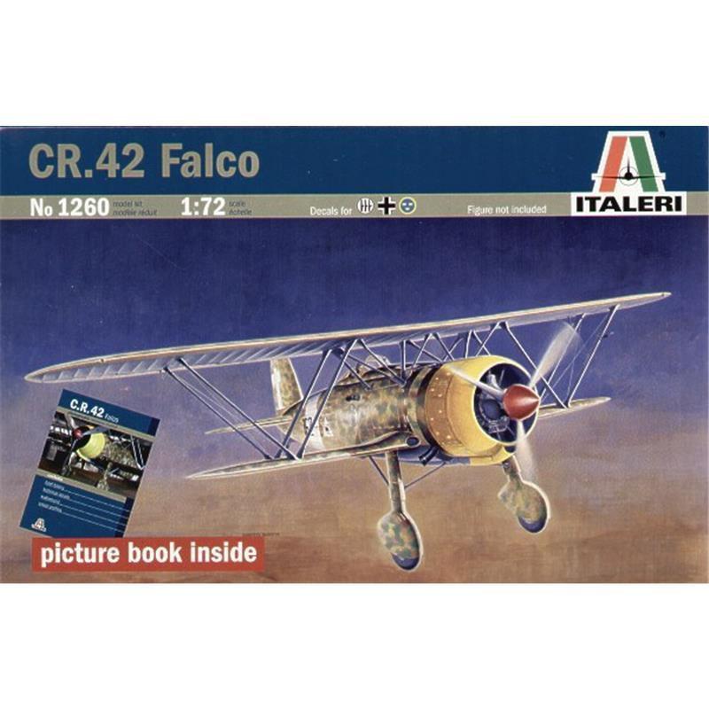 Fiat Cr 42 Falco Italeri 1260 M 1 72 Modellbau