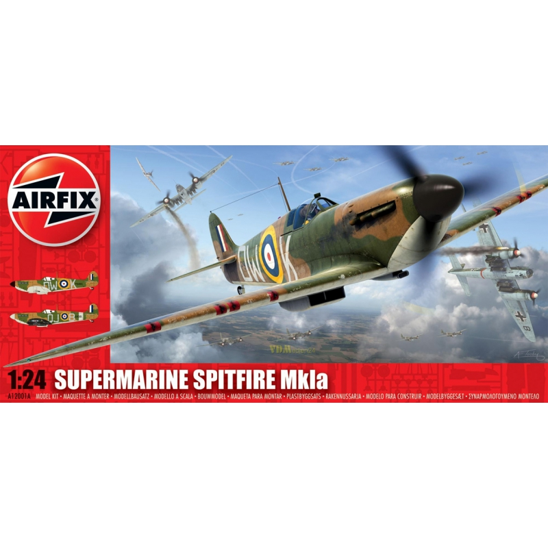 supermarine spitfire mkia airfix a12001a ma stab 1 24 modellbau modellbau milit rgeschichte. Black Bedroom Furniture Sets. Home Design Ideas