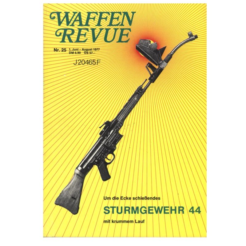 waffen revue nr 25 sturmgewehr 44 um die ecke schie end modellbau milit rgeschichte fachlit. Black Bedroom Furniture Sets. Home Design Ideas
