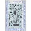 1:48 - A-6Es/ USN LOW VISIBILITY / Microscale Decals Nr. 309