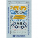 1:48 - NAVY/ FJ-3Ms/ VF-173/ VF-125 / Microscale Decals...