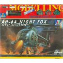 AH-6A Night Fox Scout Helicopter - Italeri 017, M 1:72...
