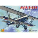 AVIA B-534 What If Markierung, RS Models, 1:72, (92080)