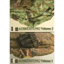 Ausrüstung - Field Equipment of the German Forces in WW2 by Roly Pickering - 2 Bände (Volume 1 & 2)