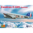 Caudron C-445 Goeland French Service, RS Models, 1:72,...