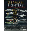 German Fighters Volume II: Bf110 Me210 Me410 Fw190 Me262 Me163 He162