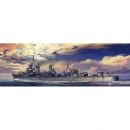IJN Asashio, waterline Japanese Navy Destroyer Hasegawa...