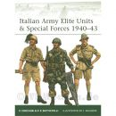 Italian Army Elite Unity & Special Forces 1940-43 ( Elite Nr. 99 )