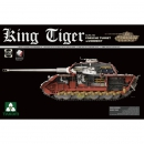 King Tiger Sd.Kfz.182 Porsche Turret w/Zimmerit, Takom...