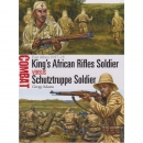 Kings African Rifles Soldier versus Schutztruppe Soldier...