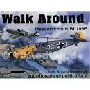 Messerschmitt Bf 109E ( Squadron Signal Walk Around Nr. 34 )