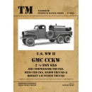 U.S. WW II GMC CCKW 2 1/2-ton 6x6 Air Compressor Trucks,...