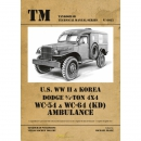 U.S. WW II & Korea Dodge 3/4-ton 4x4 WC-54 &...