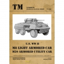 U.S. WW II M8 Light Armored Car M20 Armored Utility Car -...