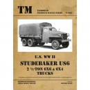 U.S. WW II Studemaker US6 2 1/2-Ton 6x6 & 6x4 Trucks...