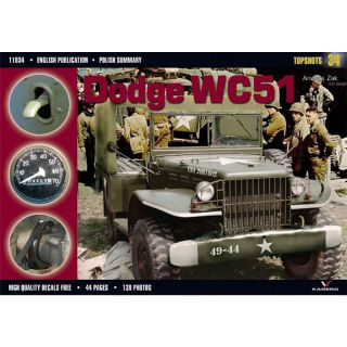 Band 11034 Dodge WC51 mit Decalblatt