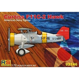 Curtiss F11C-2 Hawk, RS Models 92146, 1:72