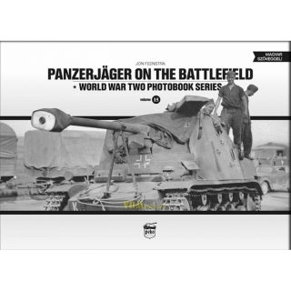Feenstra: Panzerjäger on the Battlefield - World War Two Photobook Series 15 Modellbau Diorama