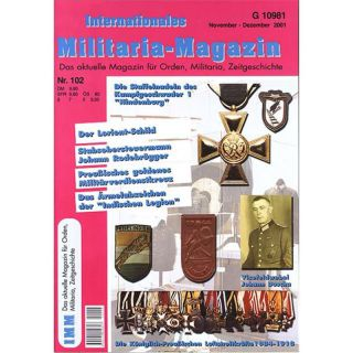 Internationales Militaria-Magazin IMM Nr. 102