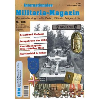 Internationales Militaria-Magazin IMM Nr. 108