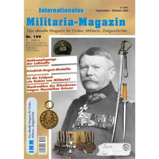Internationales Militaria-Magazin IMM Nr. 109