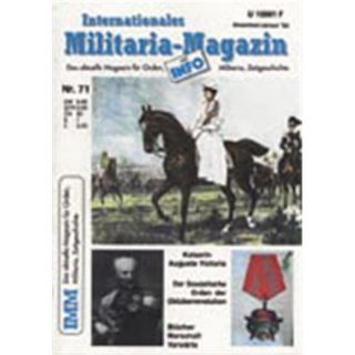 Internationales Militaria-Magazin IMM Nr. 71