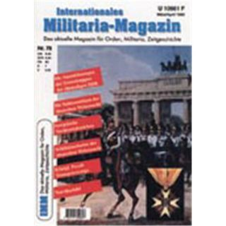 Internationales Militaria-Magazin IMM Nr. 78