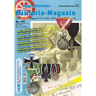 Internationales Militaria-Magazin IMM 157