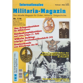 Internationales Militaria-Magazin IMM Nr. 116