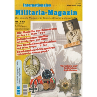 Internationales Militaria-Magazin IMM Nr. 122