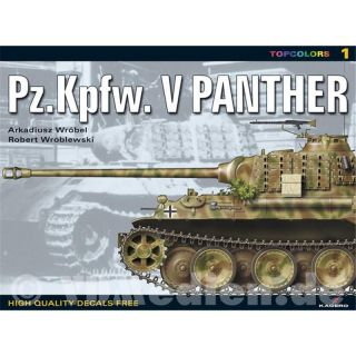 Kagero Topcolors 1 - Pz.Kpfw. V Panther