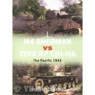 M4 Sherman vs Type 97 Chi-Ha / The Pacific 1945 - Steven J. Zaloga (Duel Nr. 43)