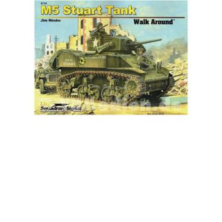 M5 Stuart Tank (Squadron Signal Walk Around Nr. 5719) - Jim Mesko