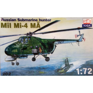 Mil Mi-4 MÄ Russian Submarine Hunter 1:72 - Toga 202 Anti-U-Boot Hubschrauber