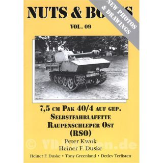 Nuts & Bolts 09: 7,5cm PAK 40/4 auf gep. Selbstfahrlafette Raupenschlepper Ost (RSO)