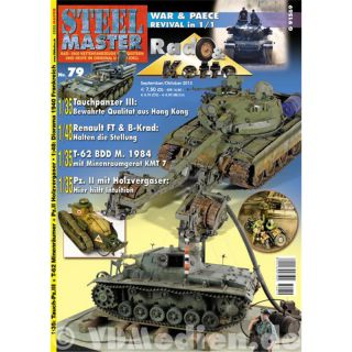 STEELMASTER 79 Renault FT Tauchpanzer War&PeaceRevival