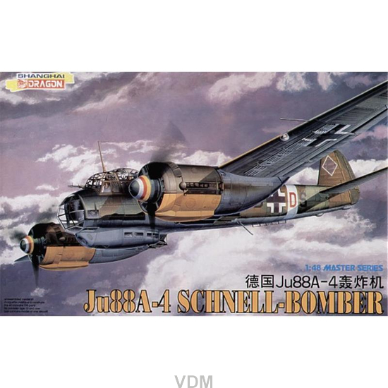 Junkers Ju-88 A-4 Schnellbomber, Dragon 5528, M 1:48
