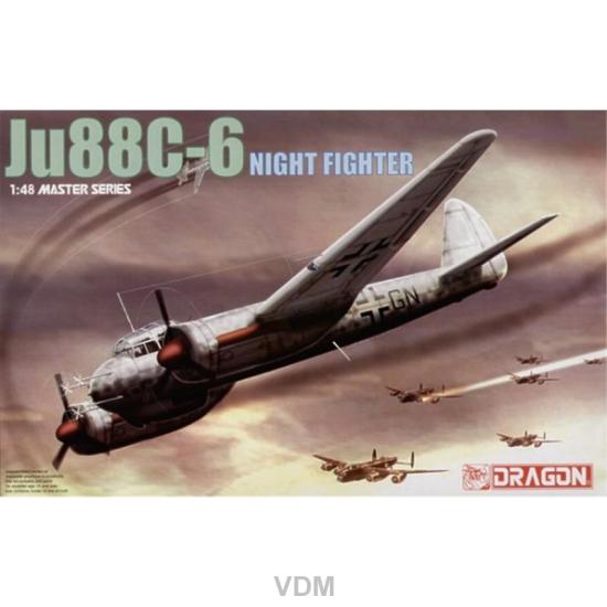 Junkers Ju-88 C-6, Dragon 5540, M 1:48