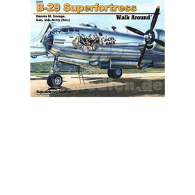 B-29 Superfortress ( Squadron Signal Walk Around Nr. 25054 )