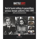 Red & Soviet military & paramiltary services. female...