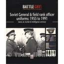 Soviet General & Field Rank Officer Uniforms 1955-1991...