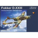 Fokker D-XXIII WWII Dutch Fighter, RS Models 48001, 1:48
