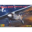 Ryan NYP Spirit of St. Louis, RS Models 92158, 1:72