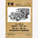 U.S. WWII Dodge 3/4-Ton 4x4 WC-51 & WC-52 Weapons Carrier...