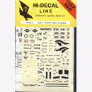 Hi-Decal Line 72-014, AH-1 J/T/W Sea Cobra 1:72 Modellbau...
