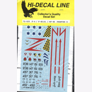 Hi-Decal Line 72-025, F-4 / F-4E (S) / RF-4E Phantom II...