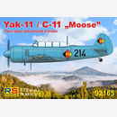 Yak-11 / C-11 Moose Two-seat advanced trainer...