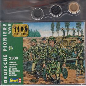 German Engineers Revell 2508 1:72 40 Soldiers incl. Colors