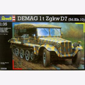revell 1 35  DEMAG 1 t Zgkw D7 (Sd.Kfz.10) - 1:35 Revell 03039 -