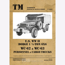 U.S. WW II Dodge 1,5-ton WC62-WC63 6x6 Personnel & Cargo...